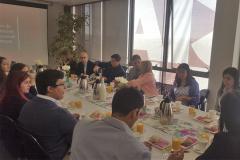 Reuniones con titulados UNAB  para la socialización del autoestudio en Sede Concepción.